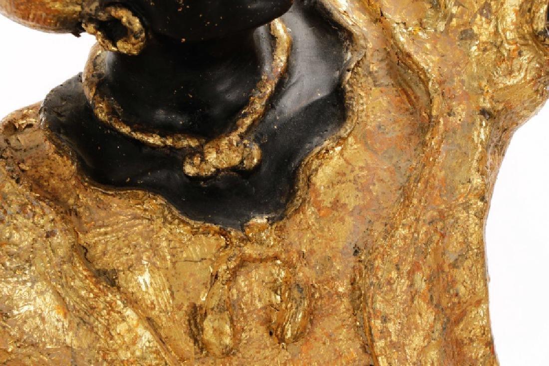 Pair of Blackamoor Torchiere Floor Lamps - 7