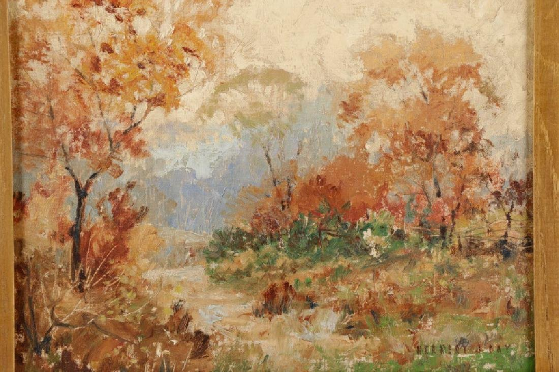 "Herbert Day ""Autumn Landscape"", Oil on Board - 2"