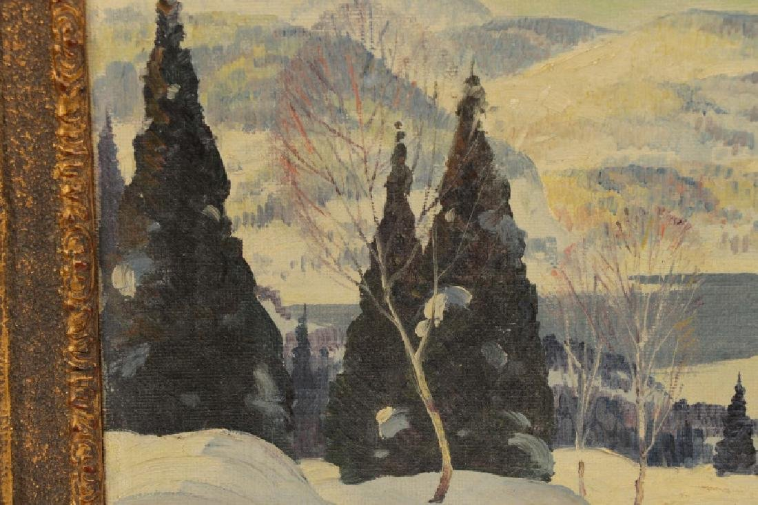 "Graham Norwell, ""In the Laurentians"", Oil on Board - 2"