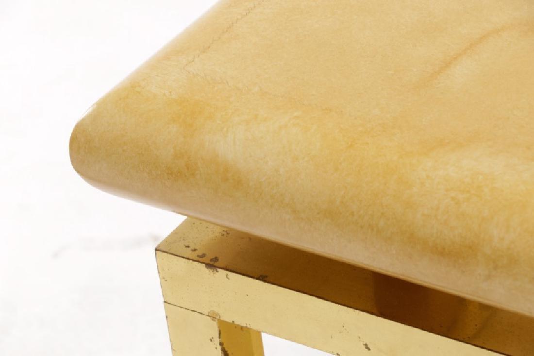 Aldo Tura Attribution Laminated Coffee Table - 5