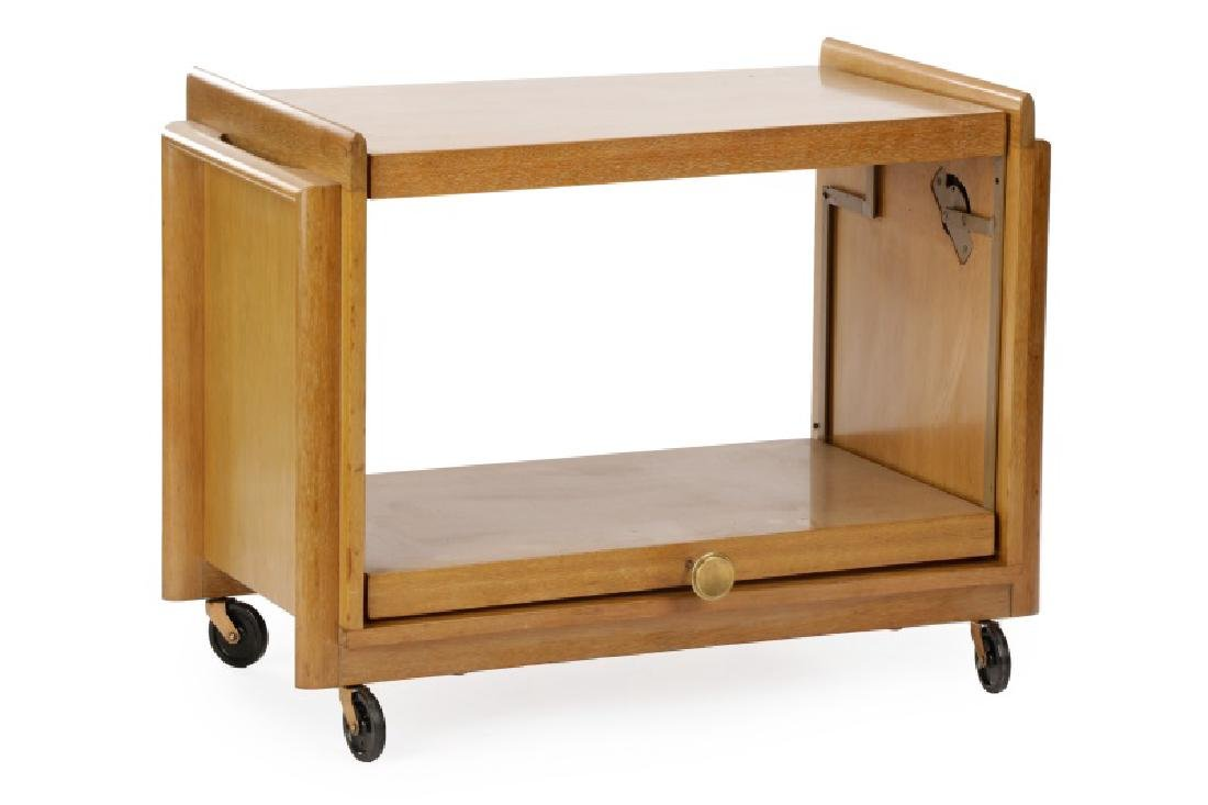 John Keal Brown-Saltman Transforming Bar Cart