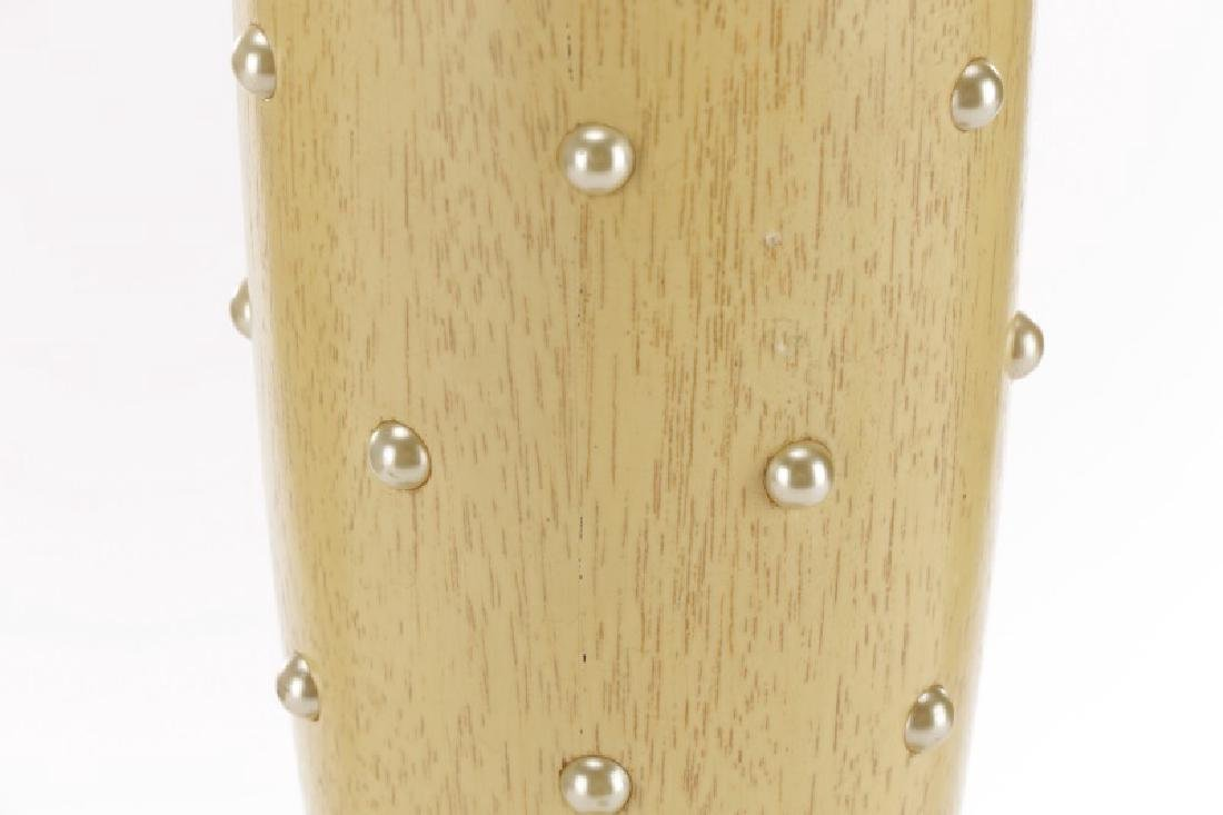 Tommi Parzinger for Rembrandt Wood Table Lamp - 3