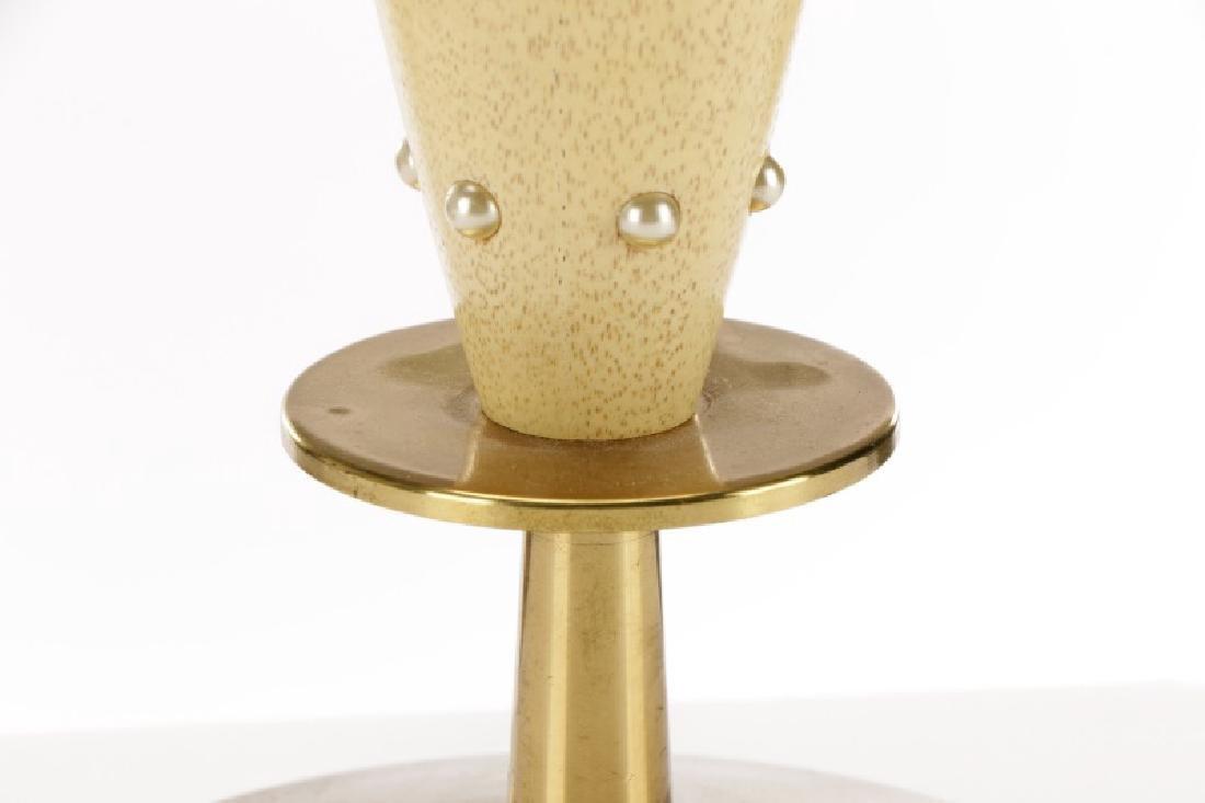 Tommi Parzinger for Rembrandt Wood Table Lamp - 5