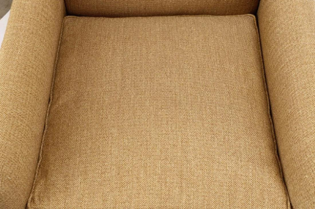 Pair, A. Rudin Upholstered Lounge Armchairs - 3