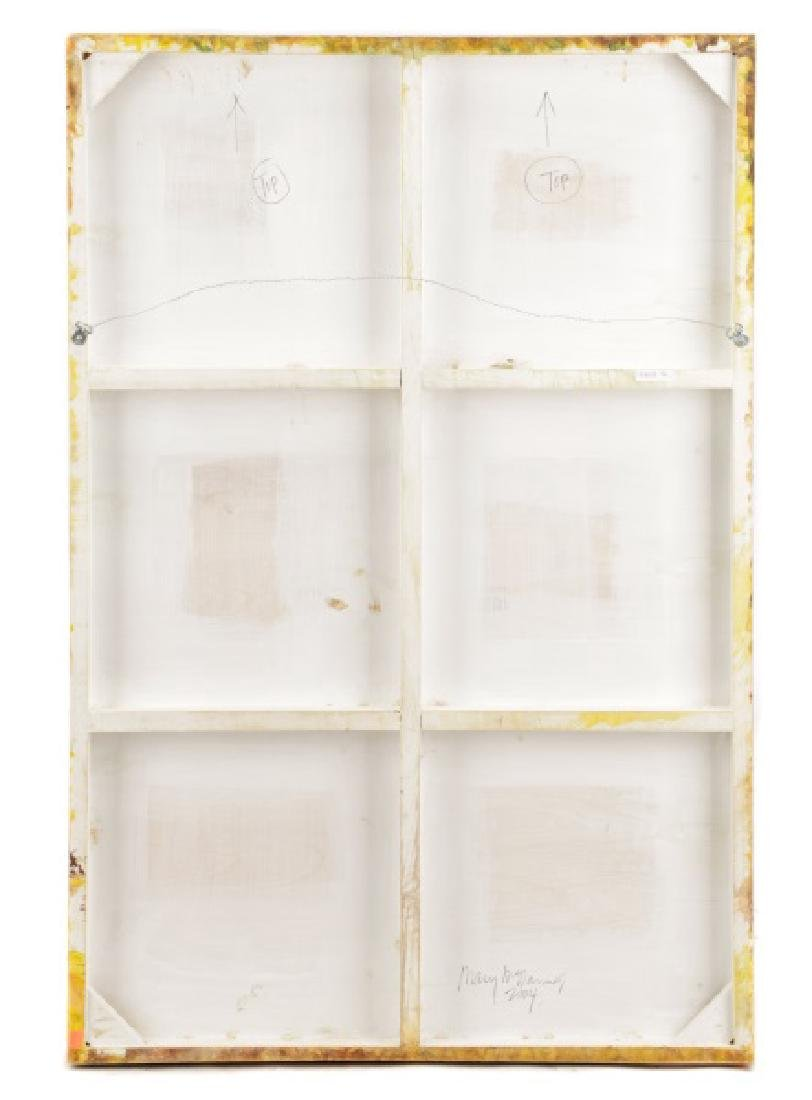 "Mary McDonnell, ""Encaustic Abstraction""-2004 - 7"