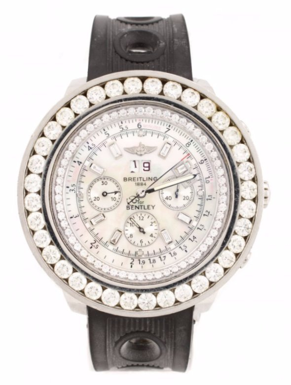 Breitling Bentley Motors Stainless Steel Watch