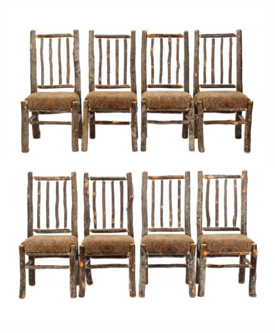 8 Rustic Grove Park by Hickory Attr. Dining Chairs