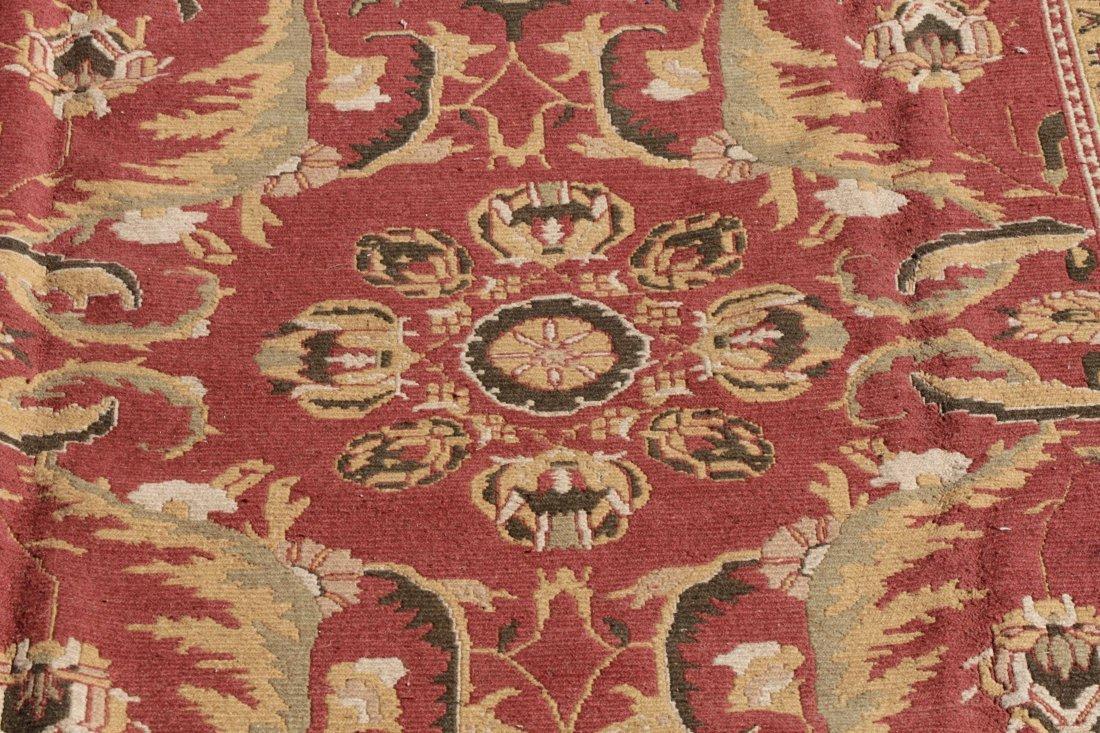 Hand Woven Soumak Room Size Rug, Approx. 9' x 12' - 2