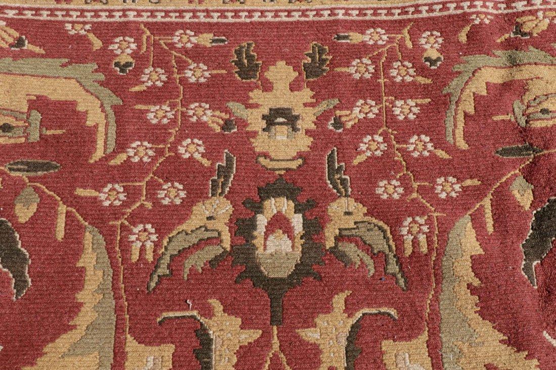 Hand Woven Soumak Room Size Rug, Approx. 9' x 12' - 3