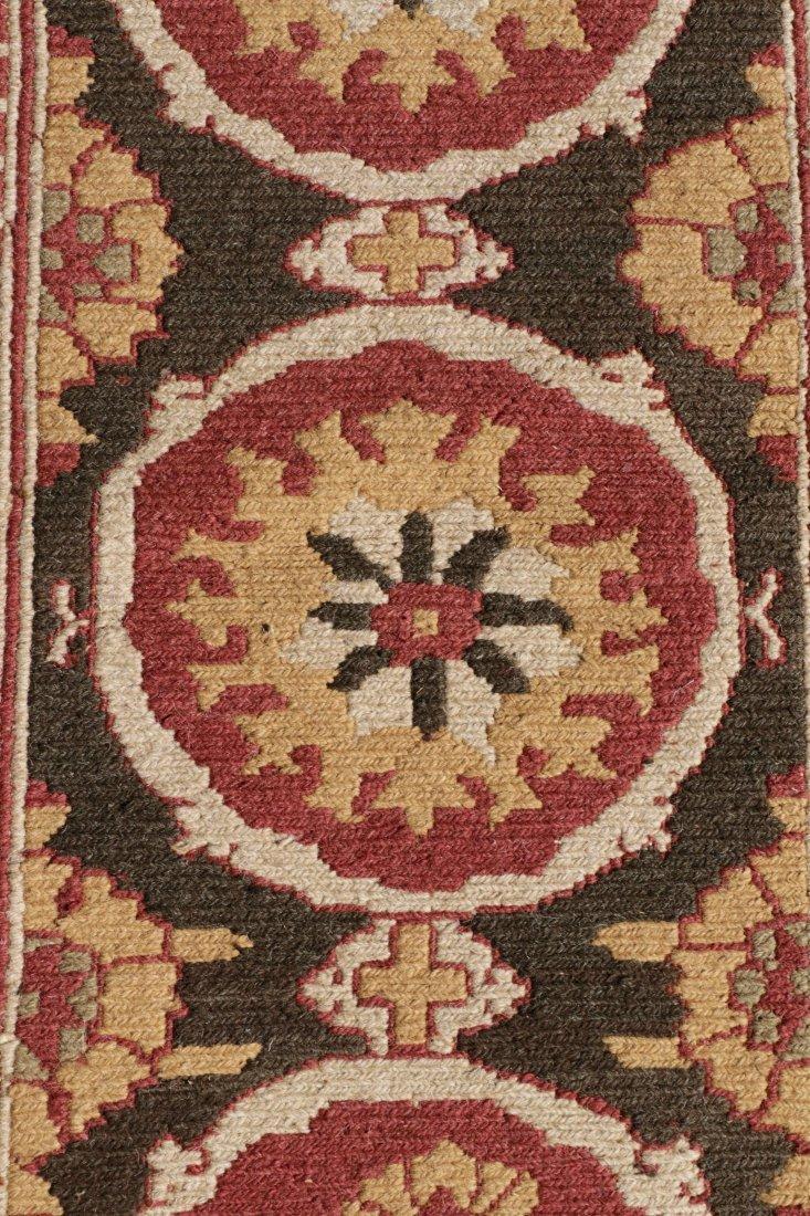 Hand Woven Soumak Room Size Rug, Approx. 9' x 12' - 4