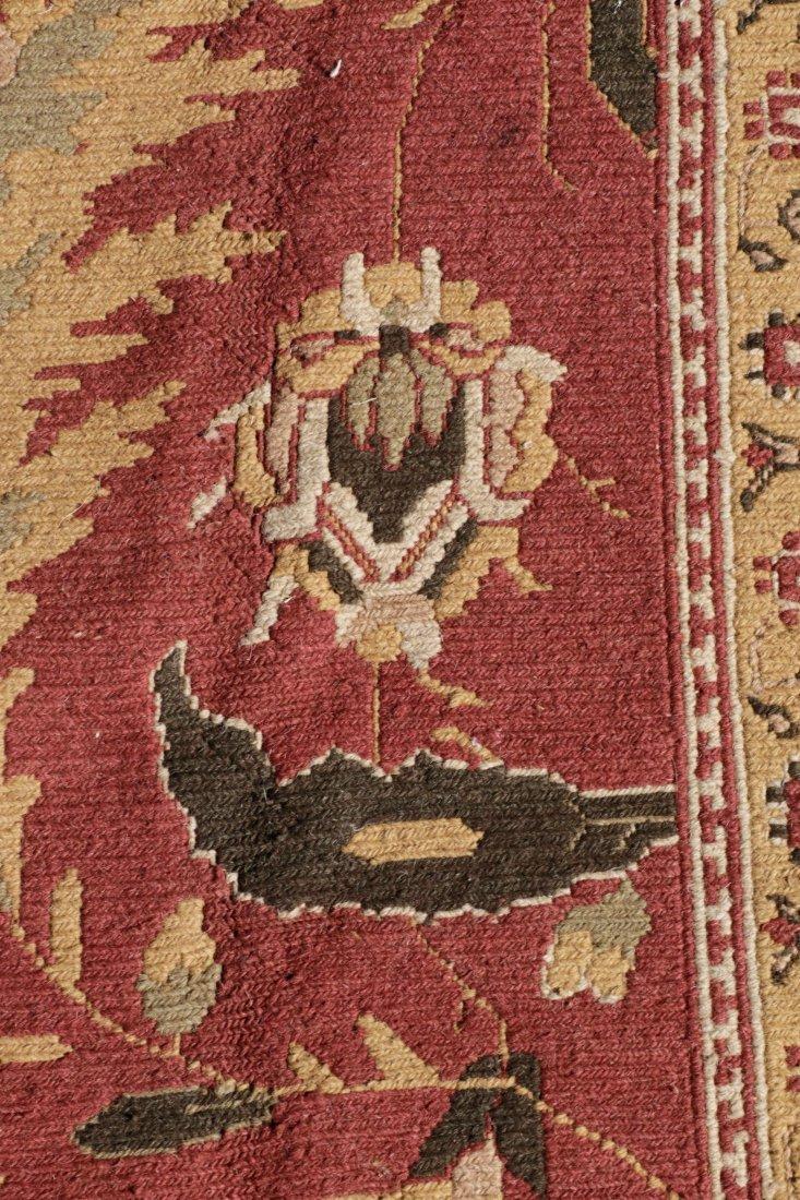 Hand Woven Soumak Room Size Rug, Approx. 9' x 12' - 7