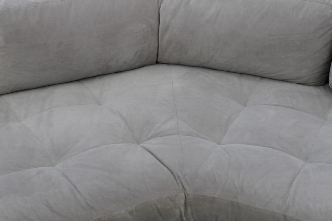 Vladimir Kagan Gray Omnibus III Sectional Sofa - 2