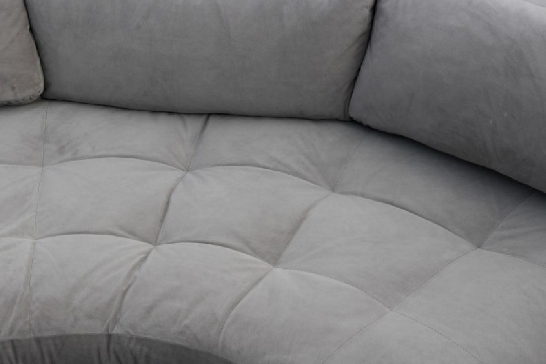 Vladimir Kagan Gray Omnibus III Sectional Sofa - 3