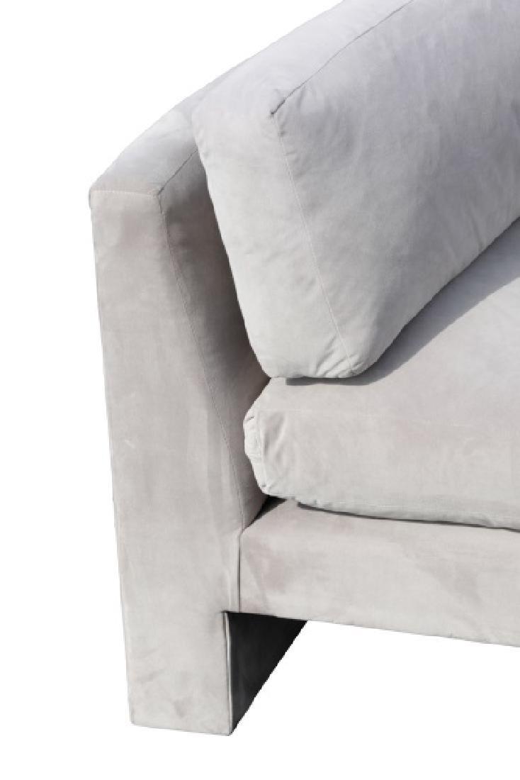 Vladimir Kagan Gray Omnibus III Sectional Sofa - 5