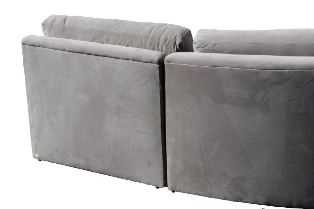 Vladimir Kagan Gray Omnibus III Sectional Sofa - 6