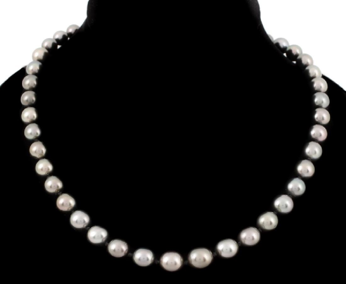 South Sea Cultured Pearl Necklace, 14k Gold Clasp