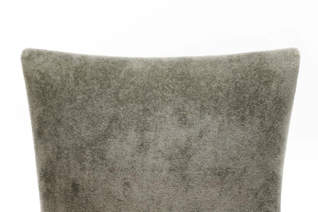 Set of 10 Donghia Velvet Upholstered Dining Chairs - 2