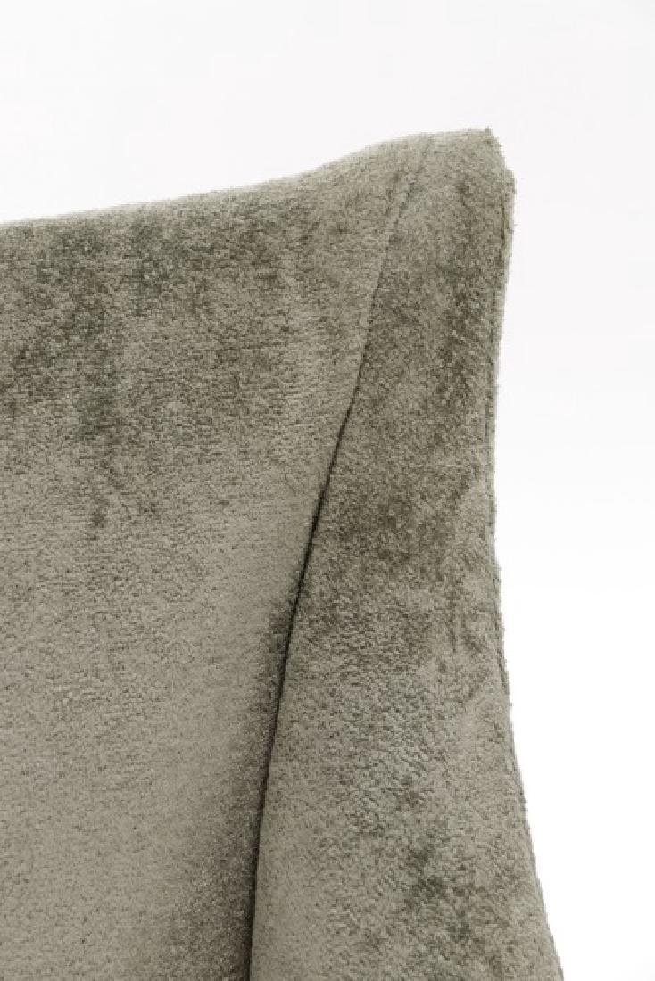 Set of 10 Donghia Velvet Upholstered Dining Chairs - 3