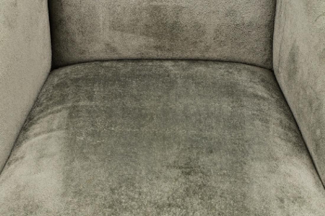Set of 10 Donghia Velvet Upholstered Dining Chairs - 4