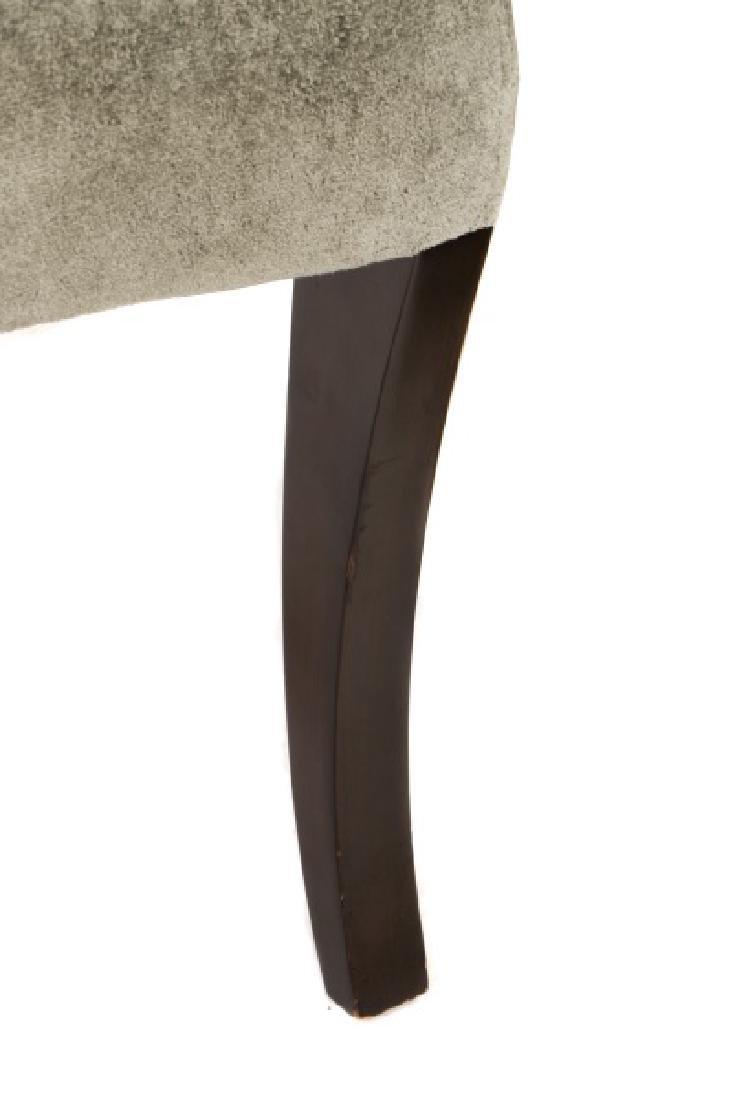 Set of 10 Donghia Velvet Upholstered Dining Chairs - 5