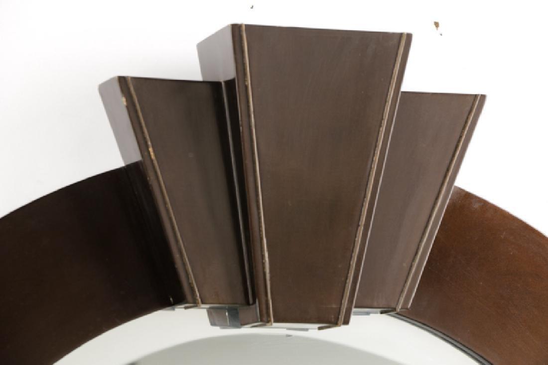 Dome-Top Art Deco Mirror Attr. to Karl Springer - 2