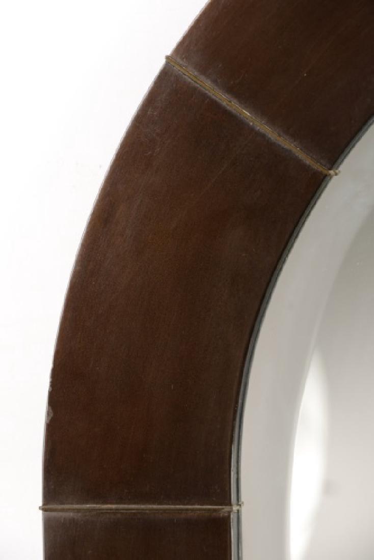 Dome-Top Art Deco Mirror Attr. to Karl Springer - 3