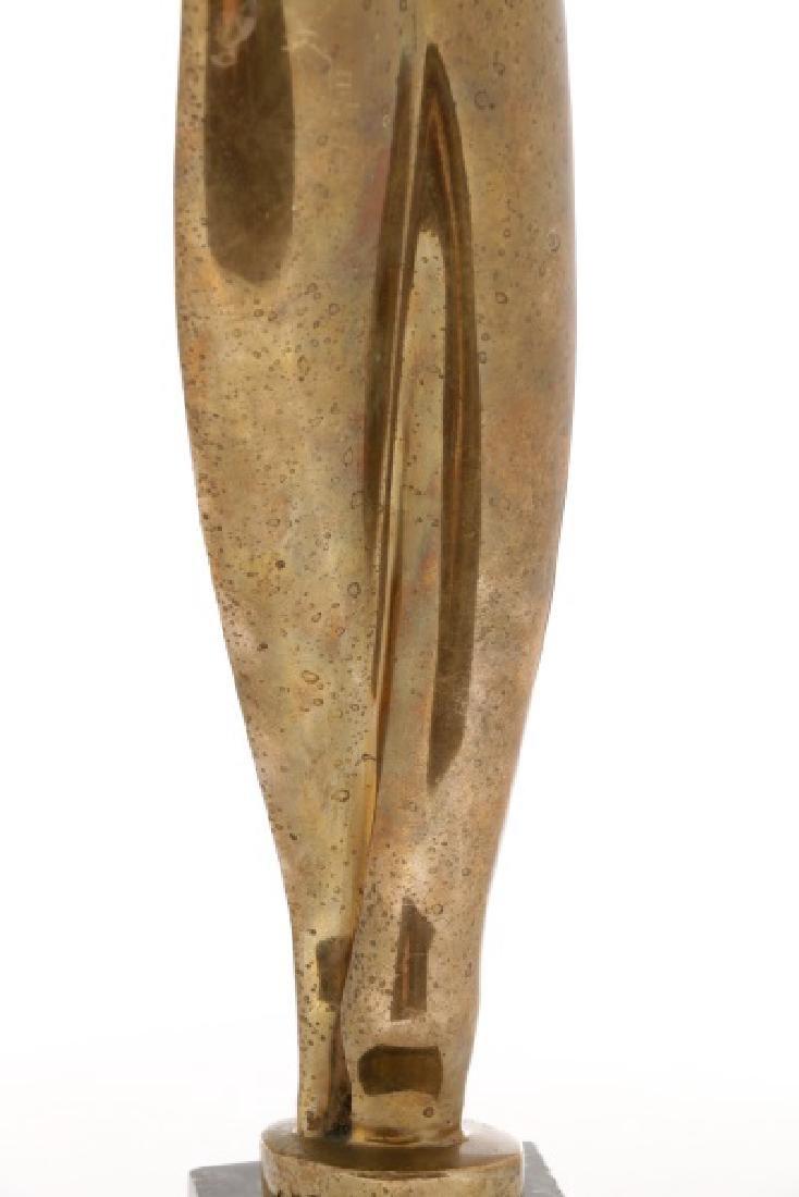 "Alexander Archipenko, ""Torso"", Gilt Bronze - 4"