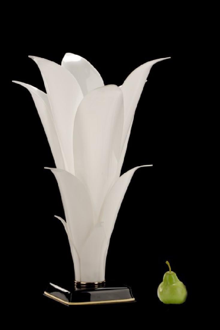 Pair of Rougier Attr. Floriform Table Lamps - 6