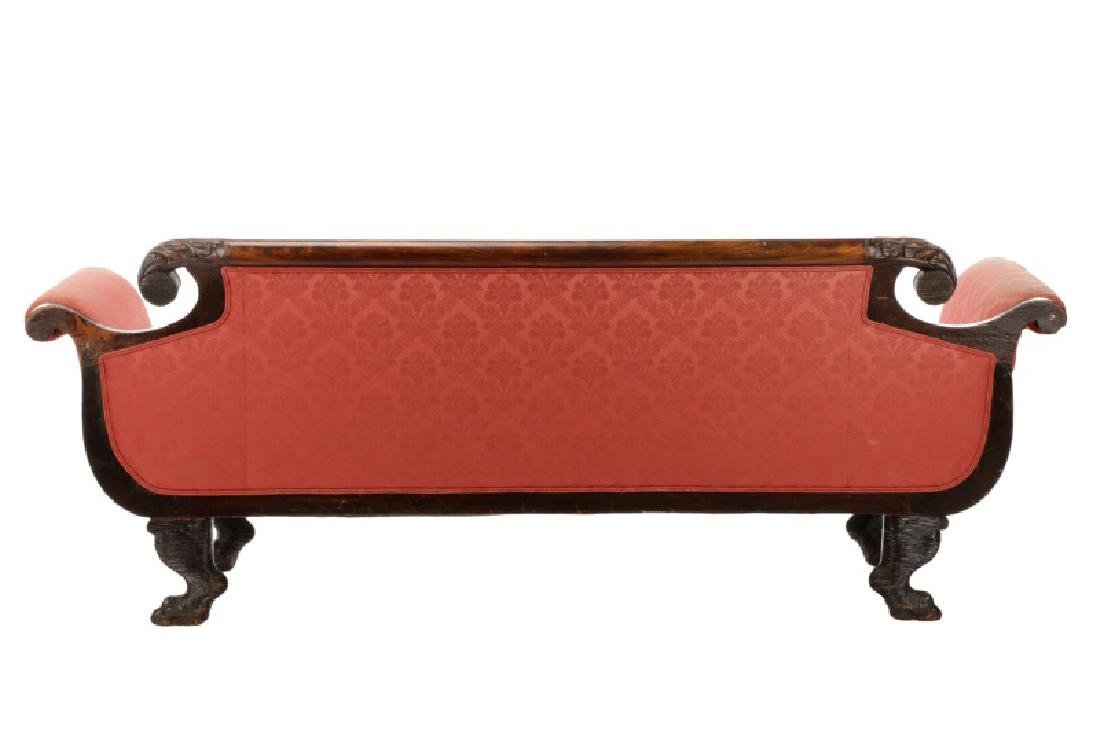 American Classical Sofa, Anthony Quervelle (attr) - 6