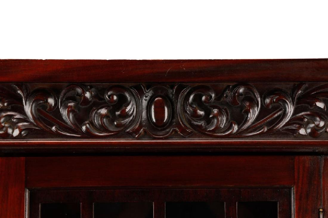 Late Classical Revival Bookcase Manner of Horner - 5