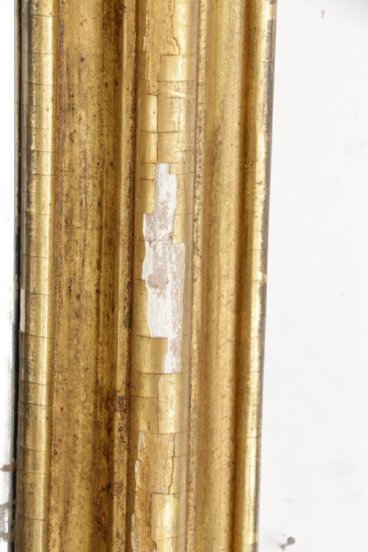Rococo Revival Giltwood C-Scroll Mirror, 19th C - 5