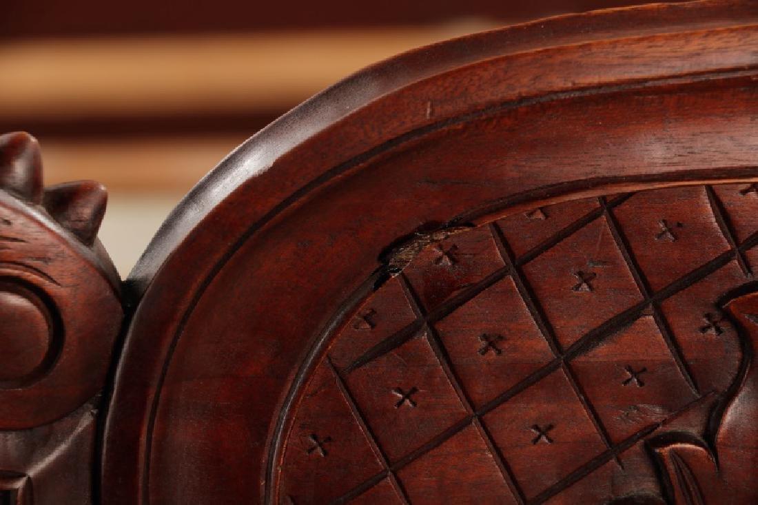 Mahogany Rococo Revival Style Tester Bed - 10