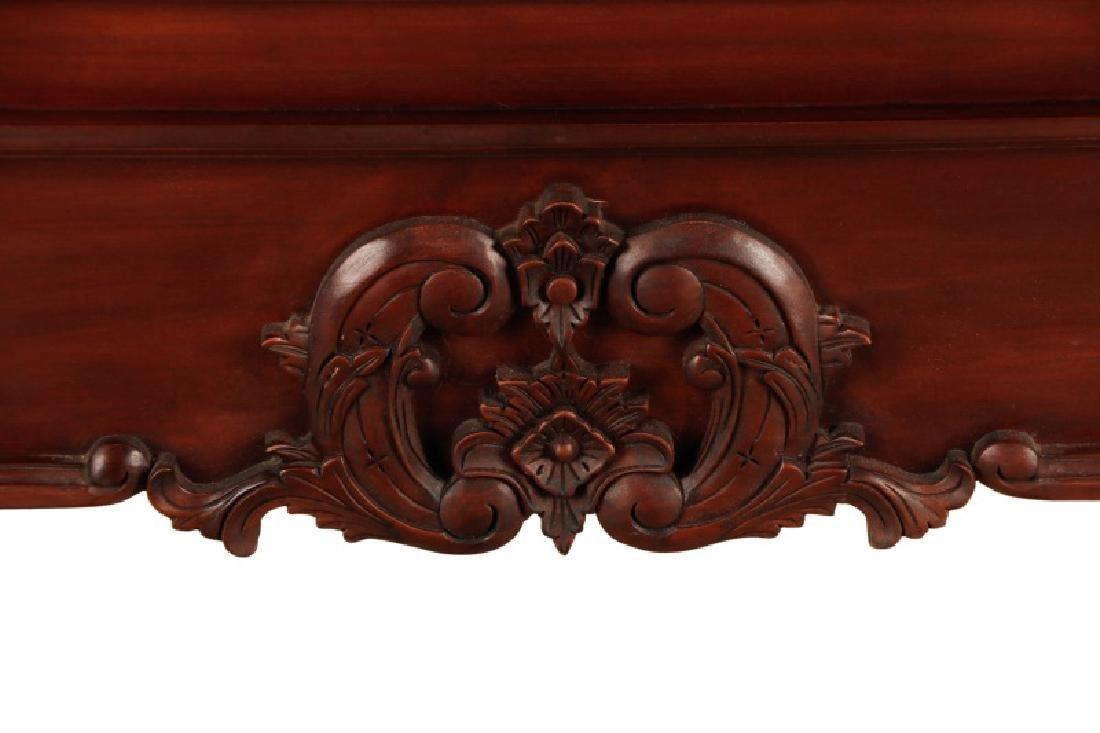 Mahogany Rococo Revival Style Tester Bed - 2
