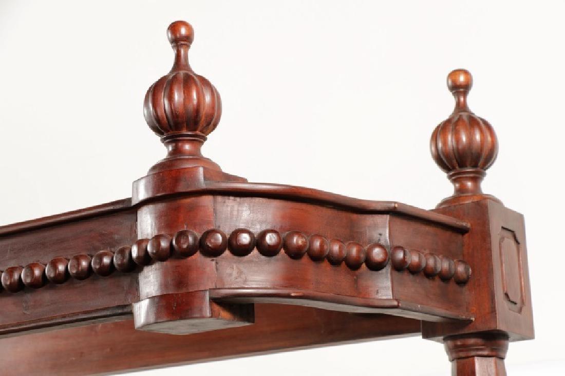 Mahogany Rococo Revival Style Tester Bed - 6