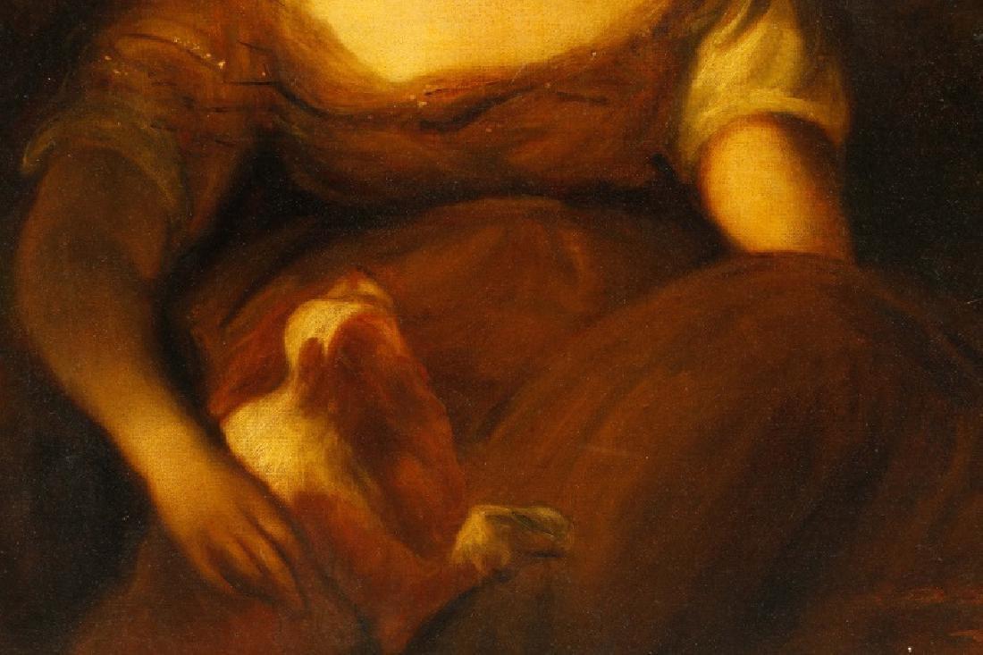 """Circle of John Hoppner, """"Portrait of a Lady"""", Oil - 3"""