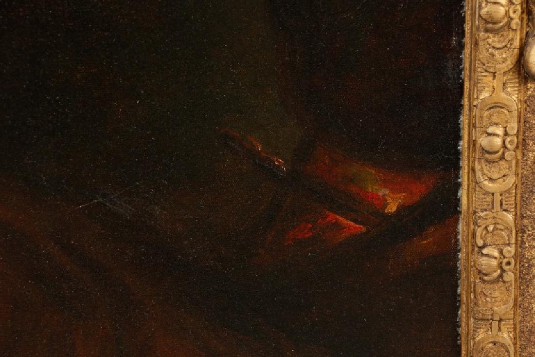 """Circle of John Hoppner, """"Portrait of a Lady"""", Oil - 4"""