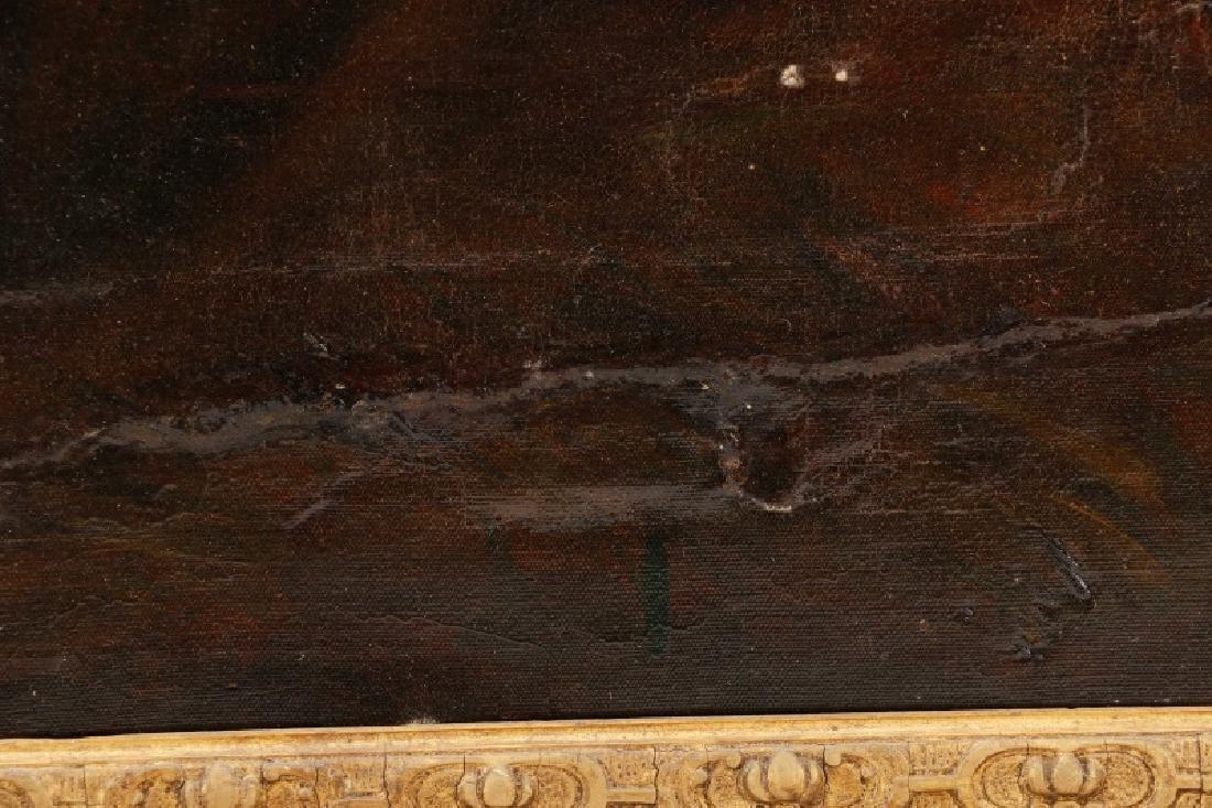 """Circle of John Hoppner, """"Portrait of a Lady"""", Oil - 7"""