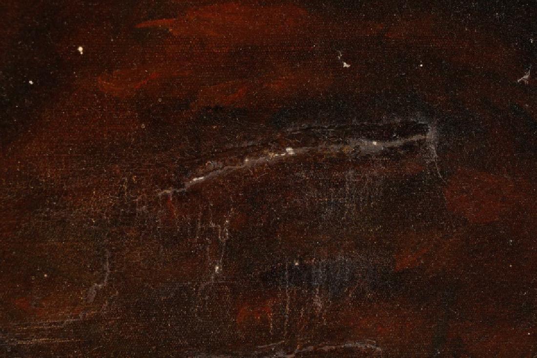 """Circle of John Hoppner, """"Portrait of a Lady"""", Oil - 8"""