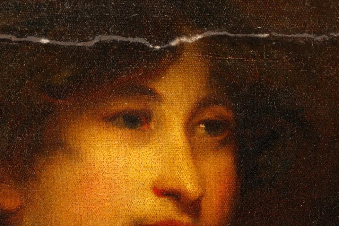 """Circle of John Hoppner, """"Portrait of a Lady"""", Oil - 9"""