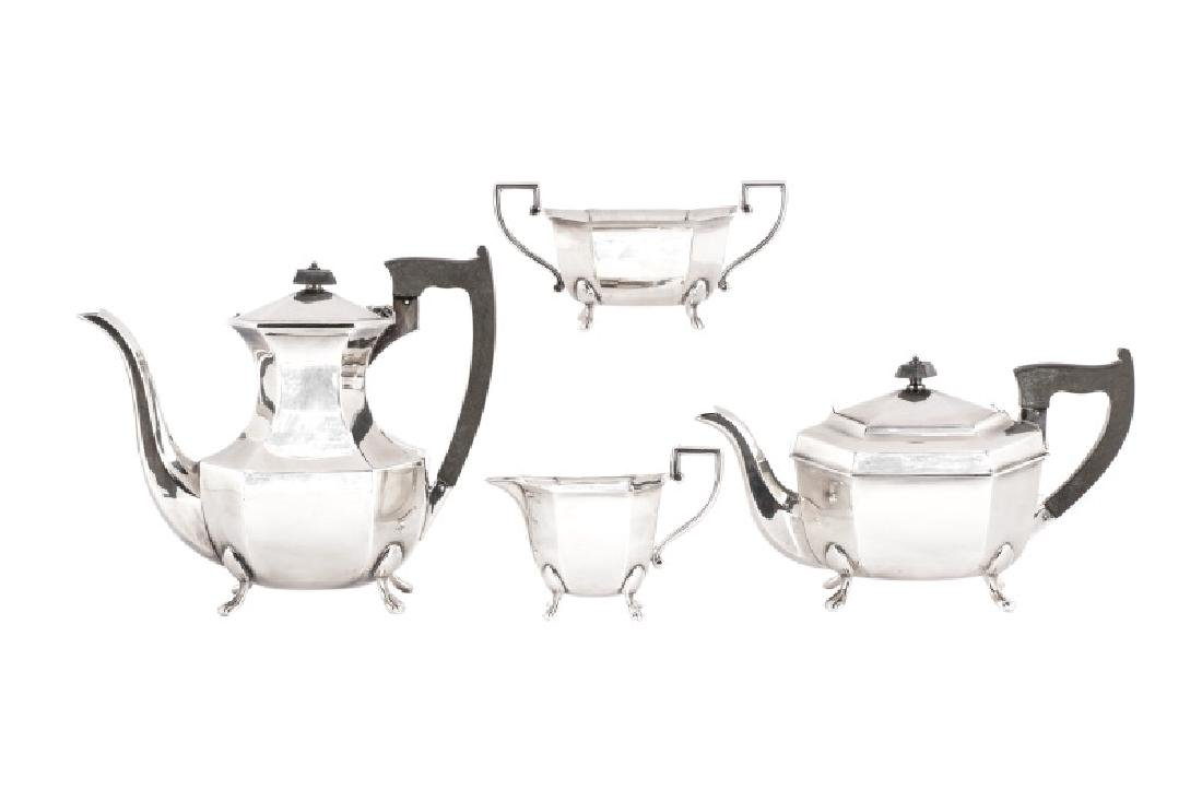 E. Viners 4-Piece Sterling Tea and Coffee Service