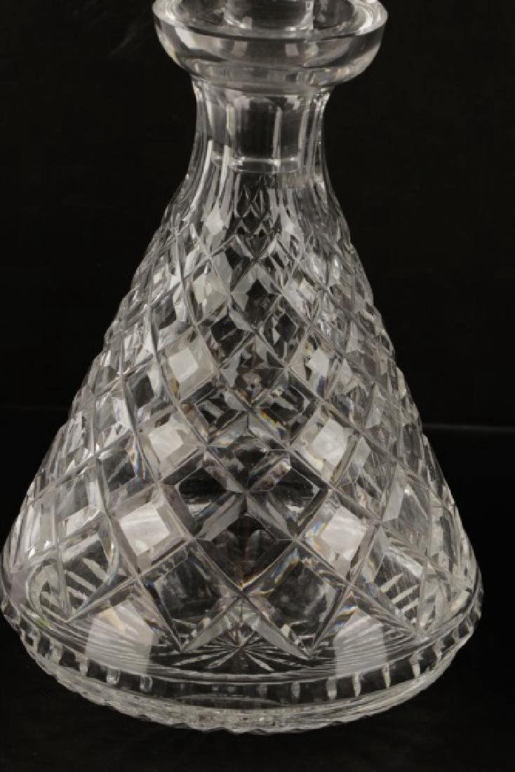 "3 Waterford Crystal Decanters in ""Alana"" Pattern - 5"