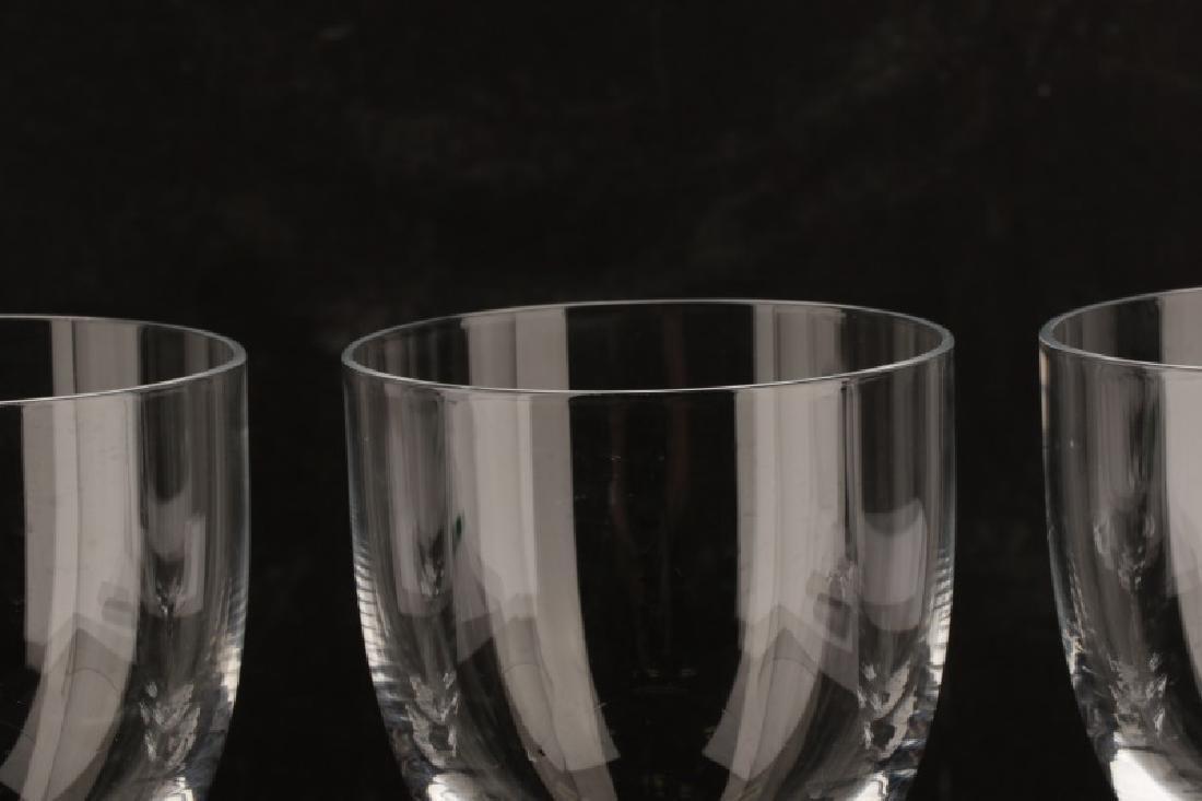"""Set of 4 Tiffany """"Hampton"""" White Wine Glasses - 4"""