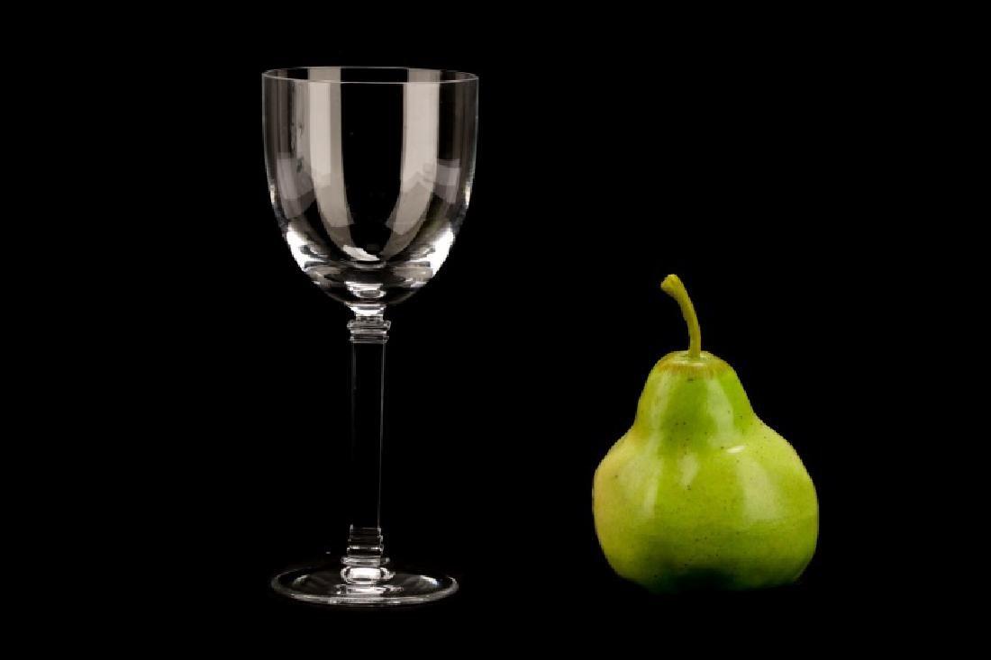 """Set of 4 Tiffany """"Hampton"""" White Wine Glasses - 5"""