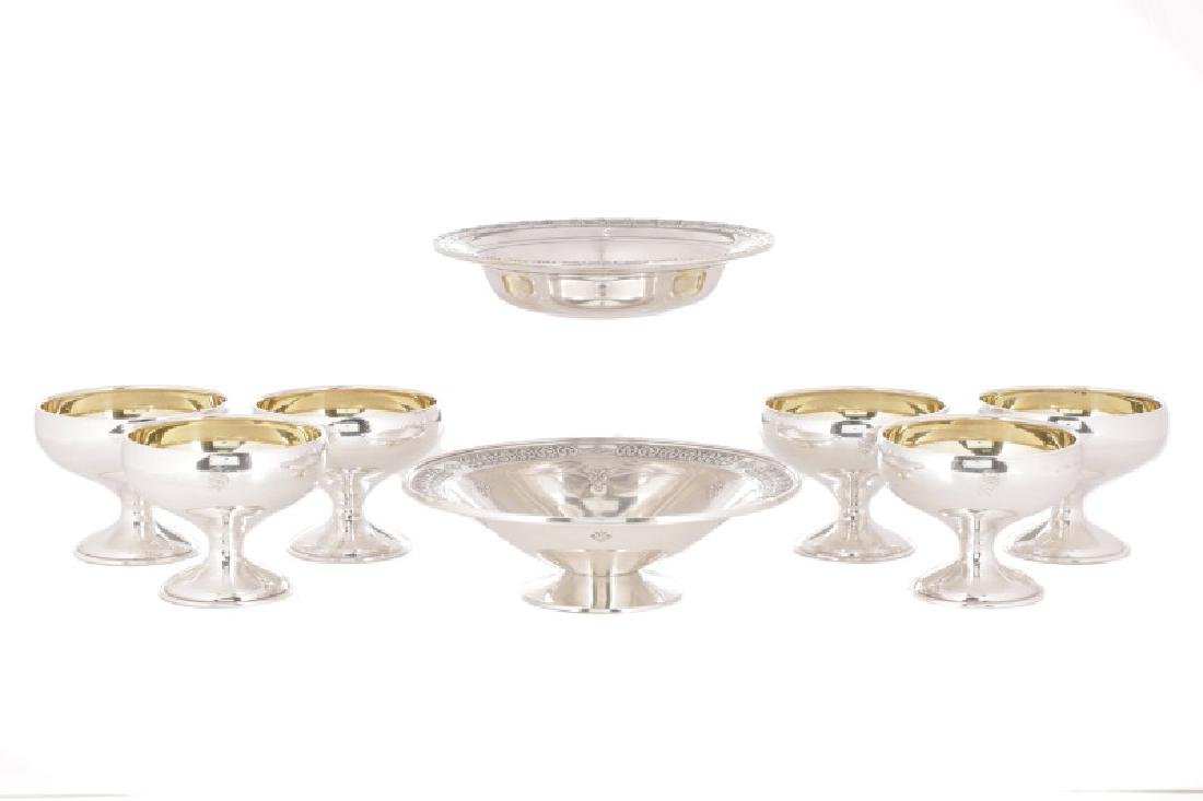 Group of American Sterling Table Accessories