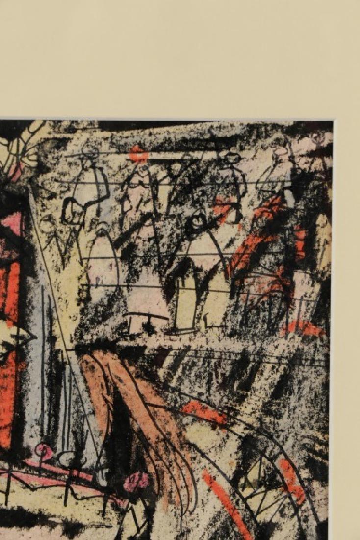 """Benjamin Shute, """"Clown Head"""", Mixed Media - 4"""