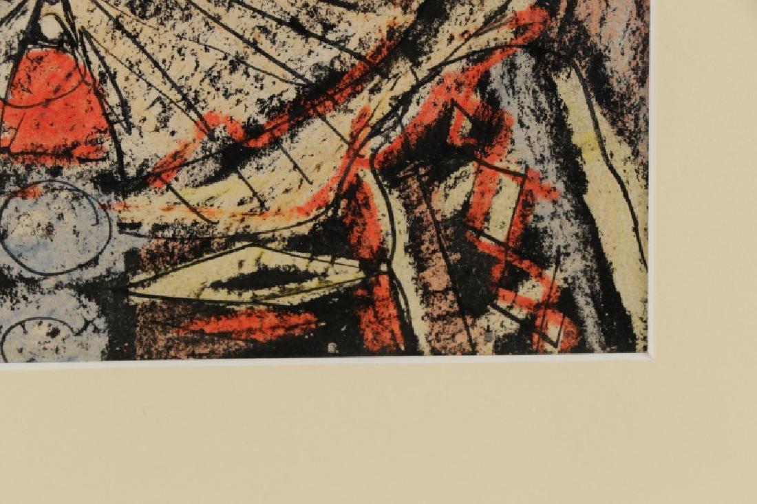 """Benjamin Shute, """"Clown Head"""", Mixed Media - 6"""