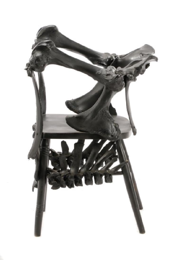 Modernist Macabre Cow Bone Specimen Chair - 10