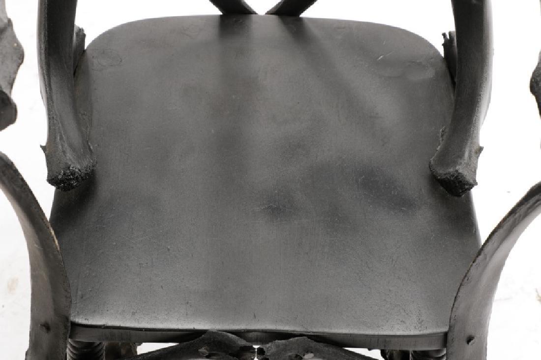 Modernist Macabre Cow Bone Specimen Chair - 5