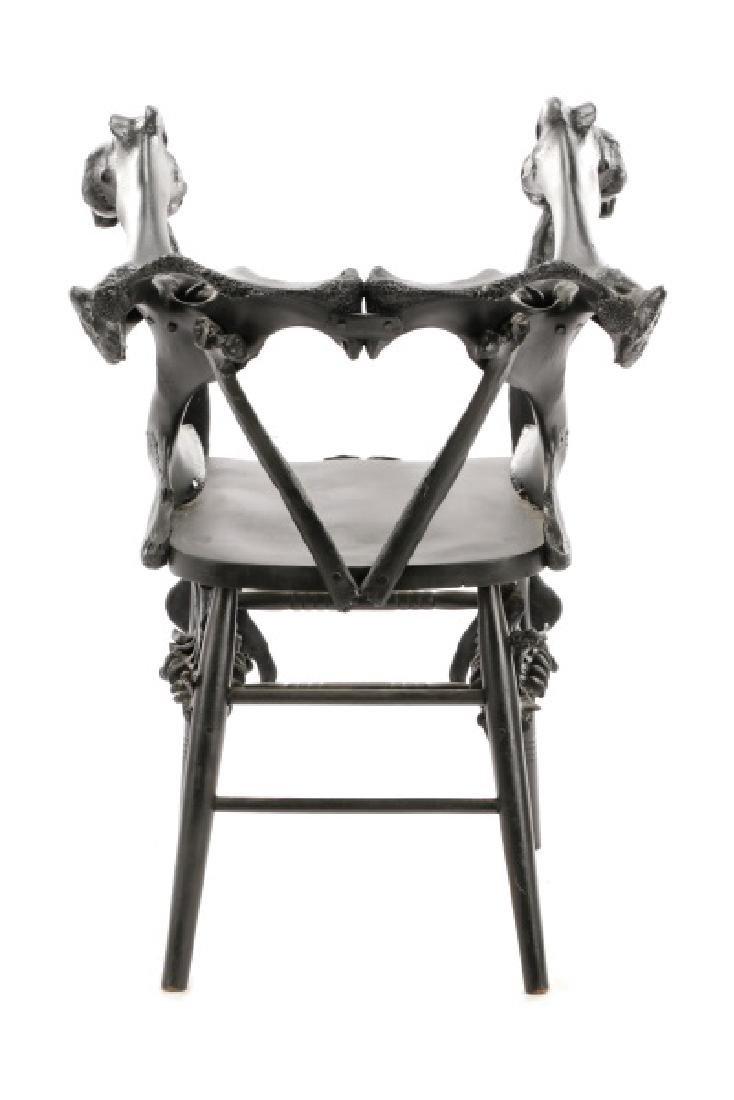 Modernist Macabre Cow Bone Specimen Chair - 8