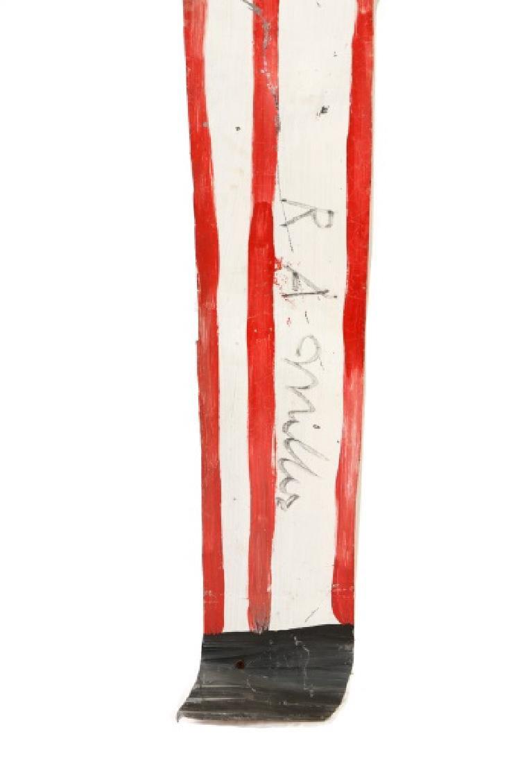 """R.A. Miller, """"Blow Oskar"""", Folk Art Sculpture - 5"""